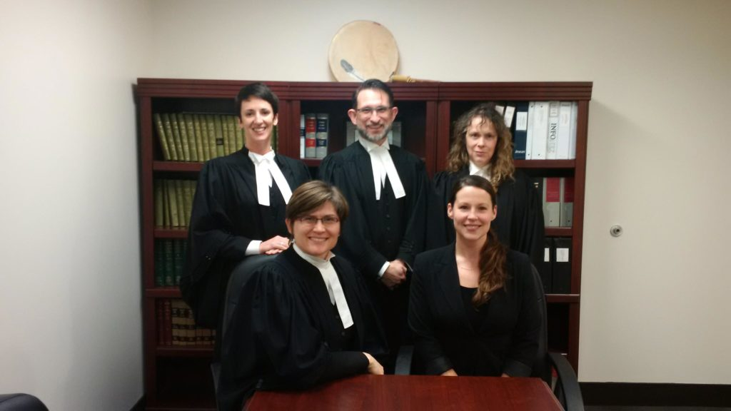 The DGW litigation team, still smiling after 50 days of trial