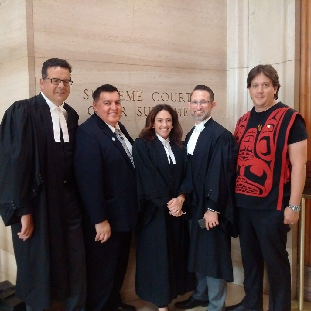 At the Supreme Court of Canada